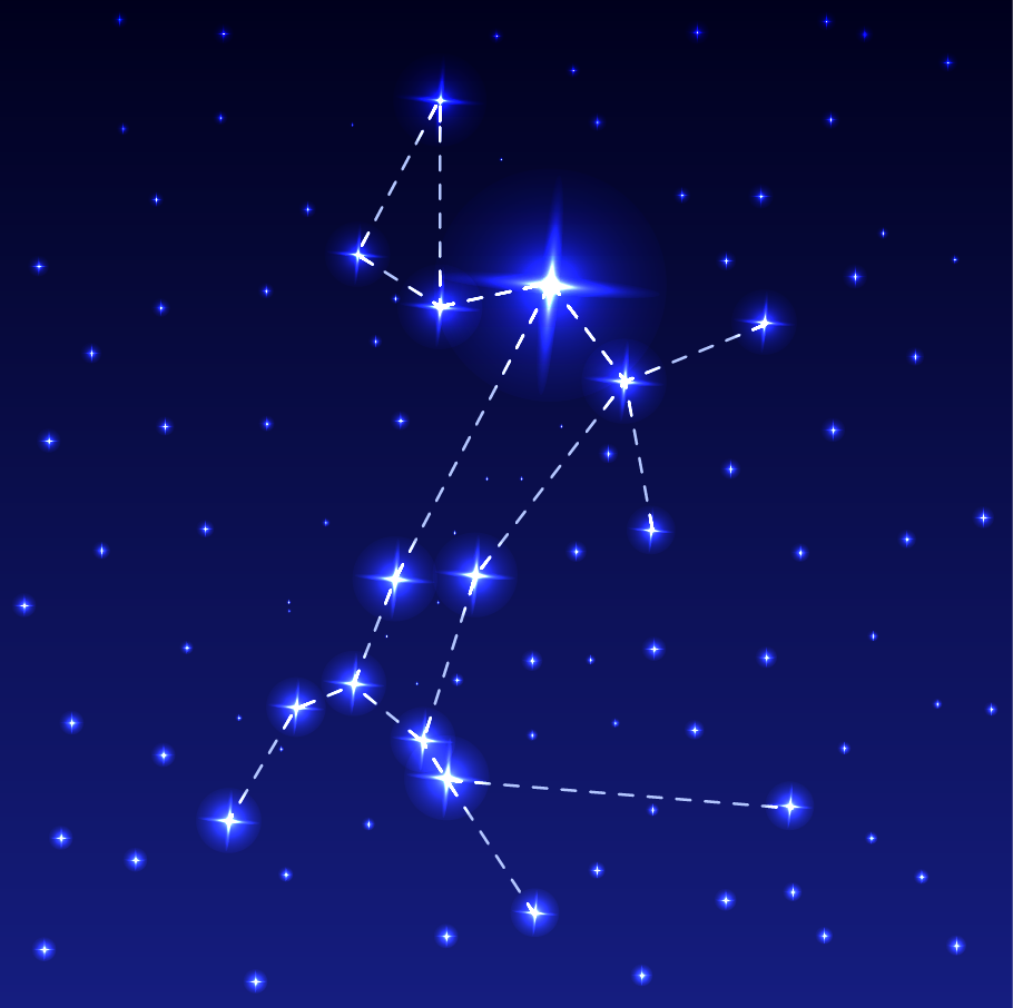 Sirius and the Big Dog Constellation