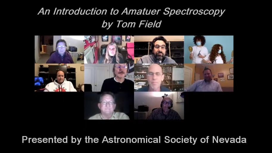 An Introduction to  Amatuer Spectroscopy
